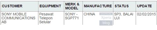Sony-SGP771