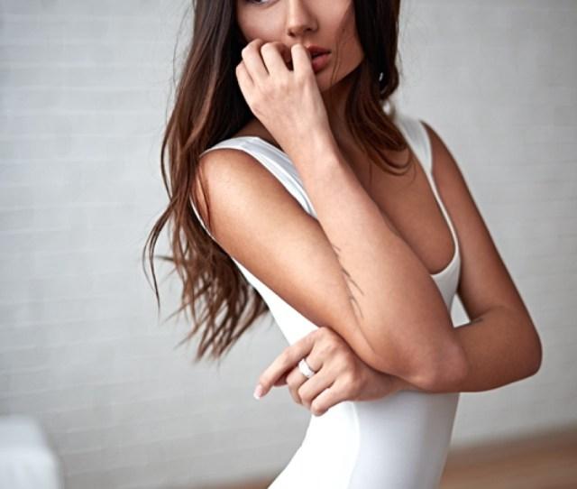 Model Girl Mila Ryzhkova Pretty Sexy Attractive Hair Lady Sensual