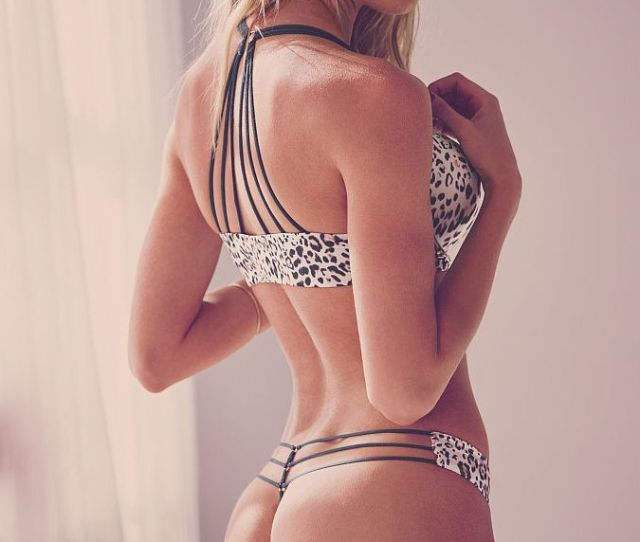 Swimsuit Sexy Girl Candice Swanepoel Bikini Model Body Lingerie