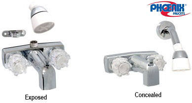 tub shower faucets