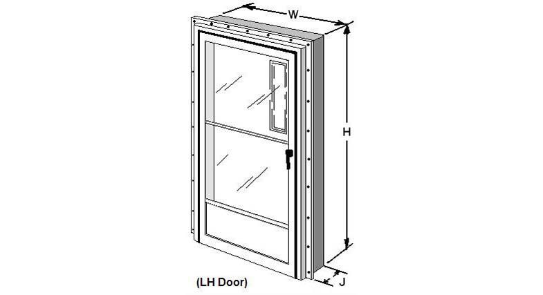 Measuring Combination Doors