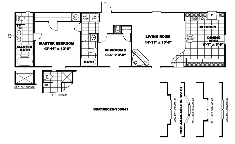 28 Best Photo Of 18 Wide Mobile Home Floor Plans Ideas