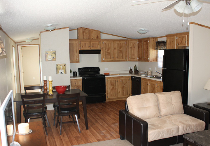 Mobile homes interior photos for Interior decorating ideas for mobile homes