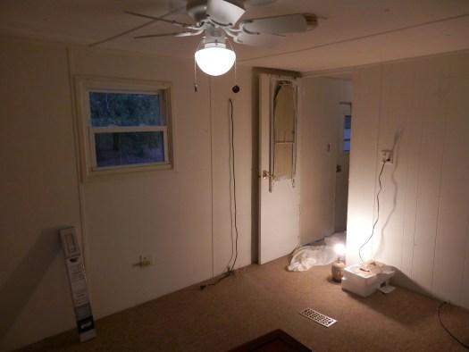 Bedroom Before Remodel