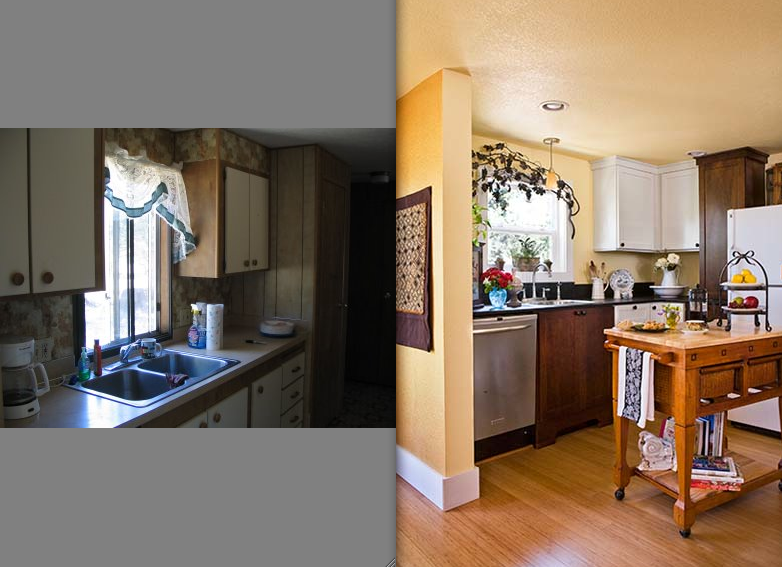 Interior Designers' Mobile Home Remodeling Photos