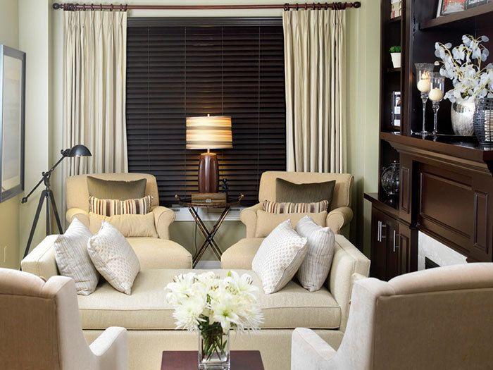 mobile home living room design ideas bookshelves choosing furniture for small homes