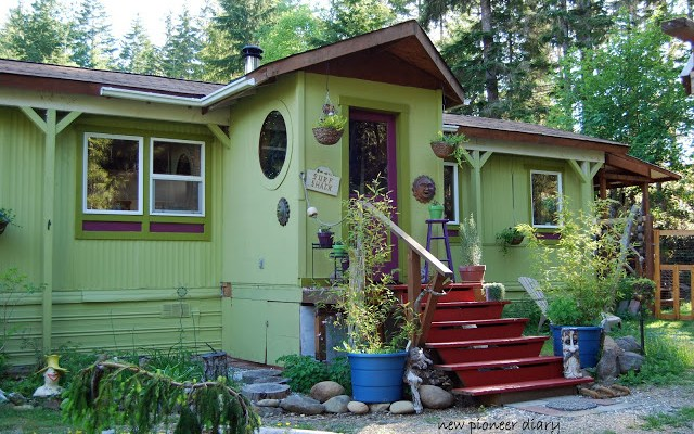 Do It Yourself Home Design: A Refreshing Single Wide Mobile Home Makeover Aka The