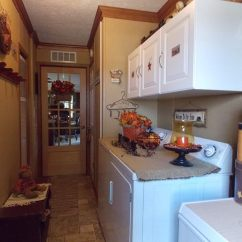 Primitive Decorating Ideas For Living Room Where To Place Furniture Country Manufactured Home Laundry