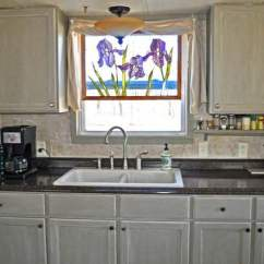 Mobile Home Kitchen Sink Wall Cabinet Doors Budget Friendly Makeover Living New And Faucet