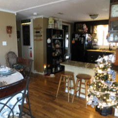 Christmas Decorations Ideas For Small Living Room Vintage Manufactured Home Holiday Decor: Very Merry Double Wide