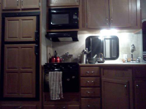Lightweight Kitchen Cabinets Camper Decorating Ideas: Laura's 5th Wheel Makeover