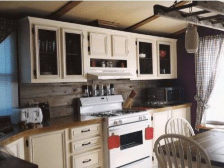 7 Affordable Ideas To Update Mobile Home Kitchen Cabinets
