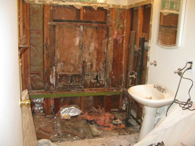 A Look At A Bathroom Remodel From Start To Finish