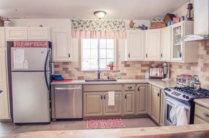 mobile home kitchens copper kitchen hoods 6 great makeovers living 4