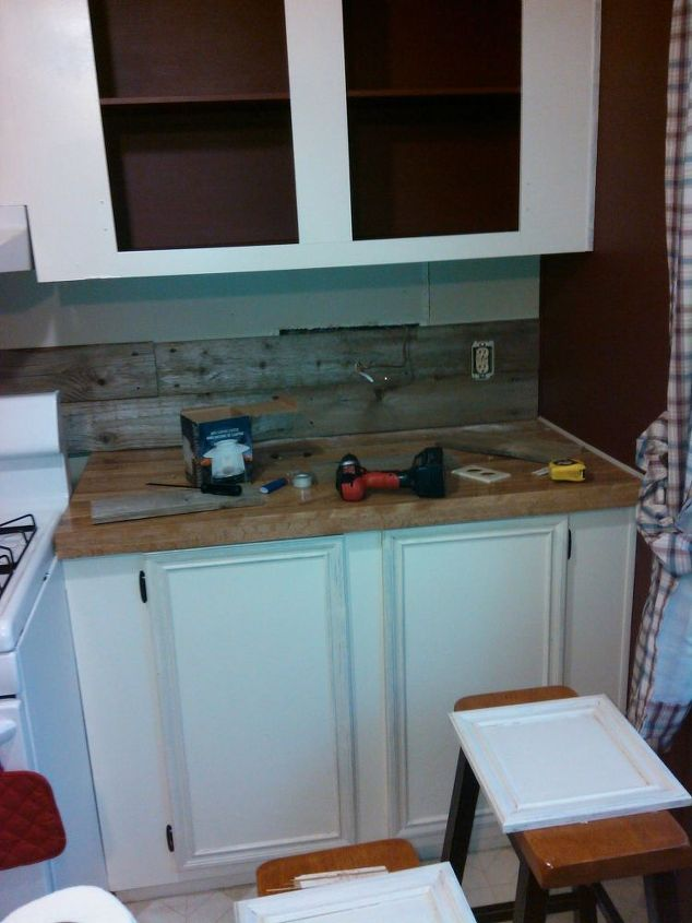 kitchen cabinets doors for sale custom knives mobile home gets rustic farmhouse makeover