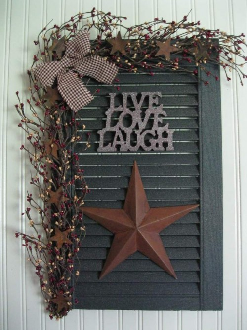 36 Primitive Country Decor Crafts For Your Home Mobile