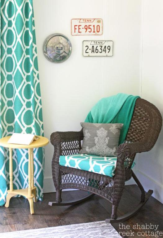 Shabby Creek Cottage Painted Mobile Home Walls