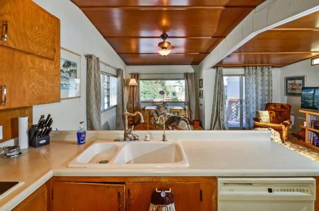 Santa Cruz Single Wide Stylish Vintage Mobile Home
