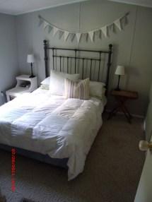 Single Wide Mobile Home Bedroom