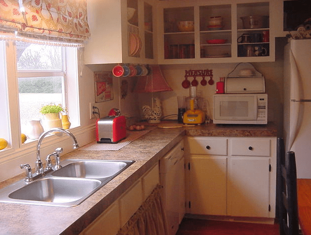 Spectacular Double Wide Kitchen Makeover  Mobile Home Living