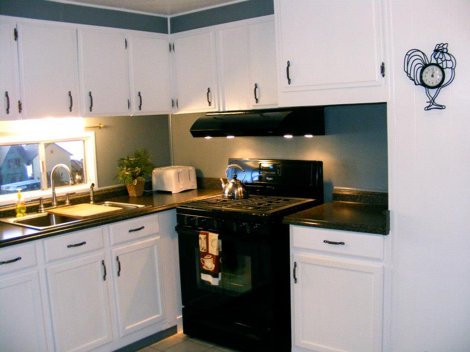 brand new kitchen cost wall cabinet doors 1971 skyline single wide remodel   mobile home living