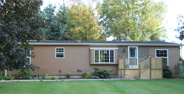 Double Wide Exterior Remodel Mobile & Manufactured Home Living