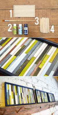 8 Cheap Wall Art Ideas