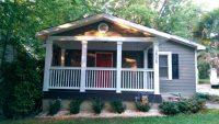 Affordable Front Porch Makeover | Mobile Home Living