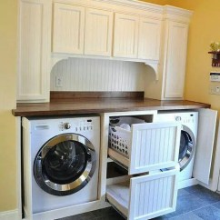 Primitive Country Living Room Colors Sears Furniture Sets Laundry Makeover Ideas For Your Mobile Home
