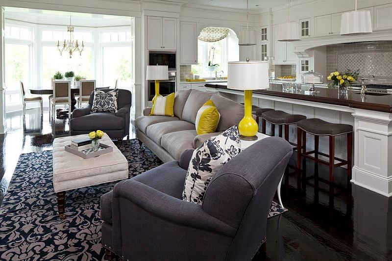 beautiful living room ideas how to decorate a with no fireplace 25 for your manufactured home mobile decor grey and yelloow