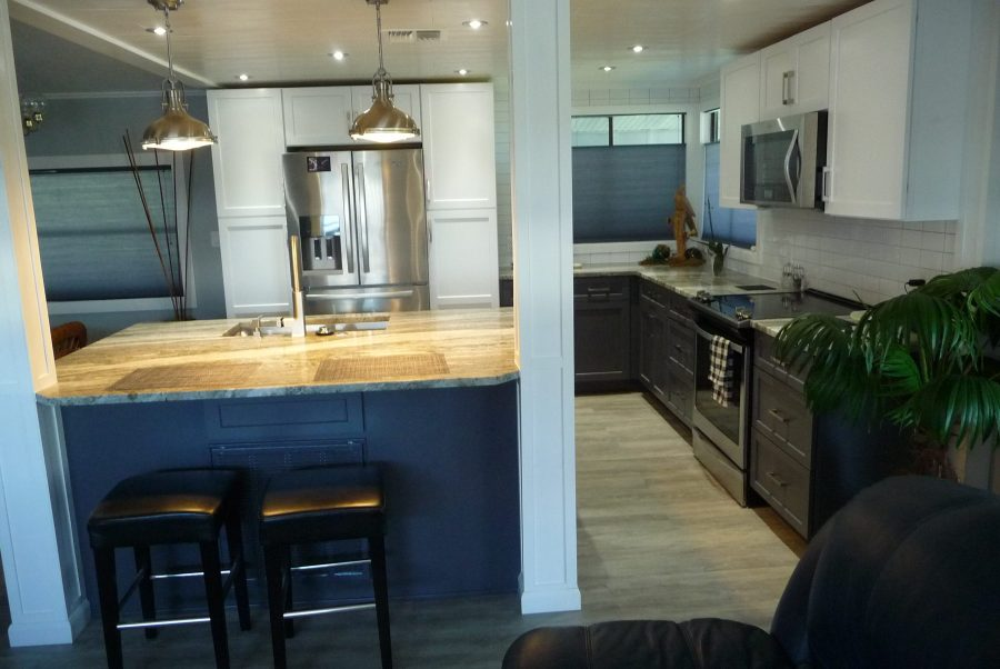 A Jaw Dropping Mobile Home Kitchen Upgrade  Mobile Home
