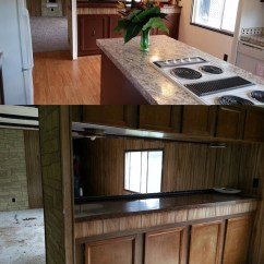 Mobile Home Kitchens Kitchen Cabinet Doors Modern 6 Great Makeovers Living Makeover Simple Updates