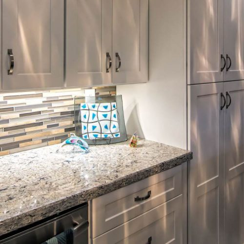 Bright And Modern Manufactured Home Kitchen Remodel Mobile Home Living