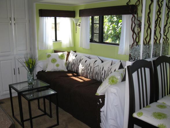 modern-rv-decor-idea Painted Gray Modern Mobile Home on dark-gray exterior homes, gray miami homes, windsor modular homes, gray auto, gray roofs on homes, gray tennessee homes, gray florida homes,