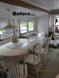 Mobile Home Decorating: Beach Style Makeover