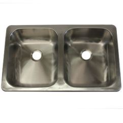 Rv Kitchen Sink Discount Countertops Lasalle Bristol 25 X 15 5 Stainless Steel Mobile Home Parts Store 110221