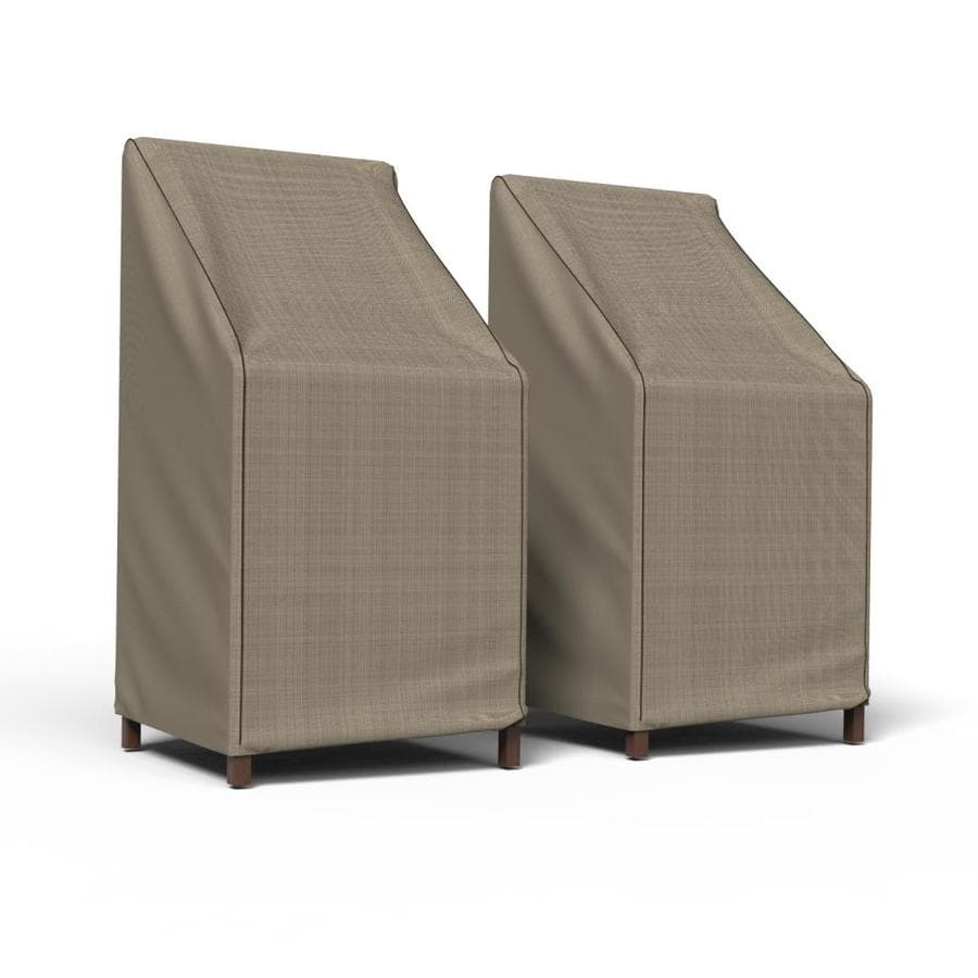 budge neverwet savanna black and ivory polyester patio furniture cover in the patio furniture covers department at lowes com
