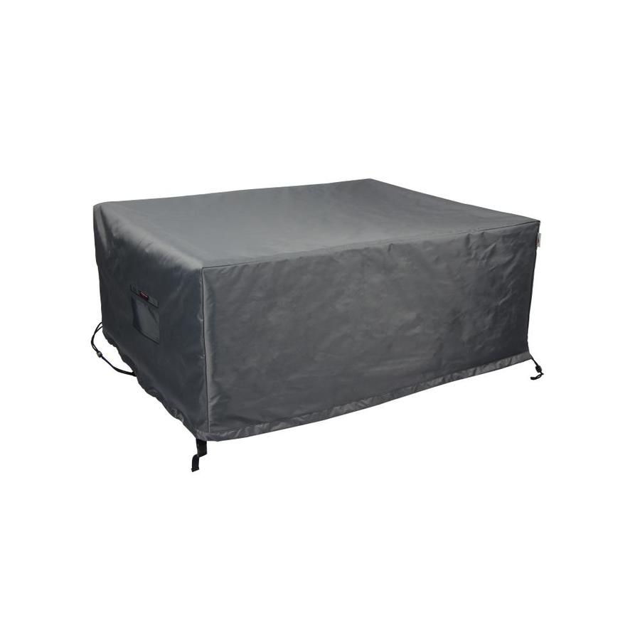 astella titanium shield cover gray premium polyester patio furniture cover in the patio furniture covers department at lowes com