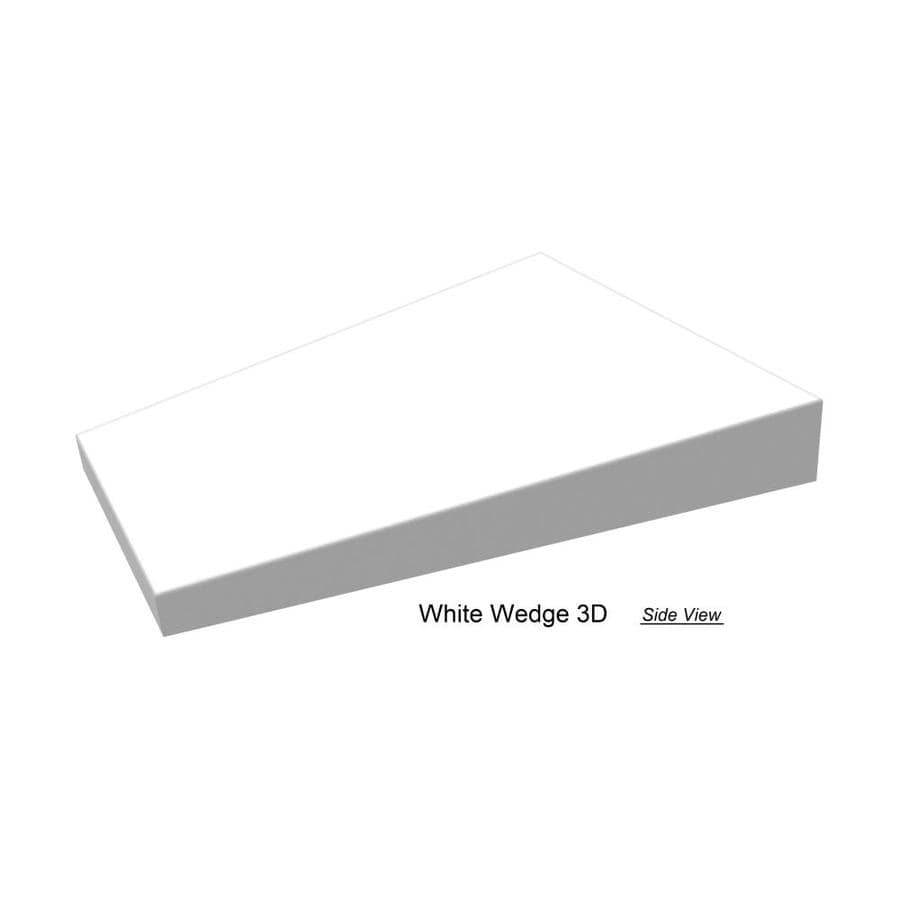 emser code 24 pack white 4 in x 6 in glazed ceramic subway wall tile in the tile department at lowes com