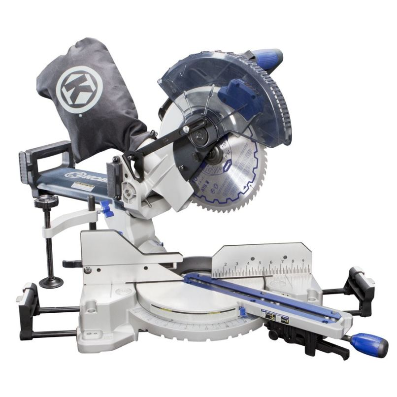 Kobalt 10 In 15 Amp Single Bevel Sliding Laser Compound Miter Saw