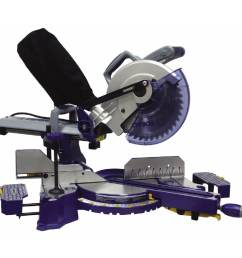 kobalt 10 in 15 amp bevel sliding laser compound miter saw [ 900 x 900 Pixel ]