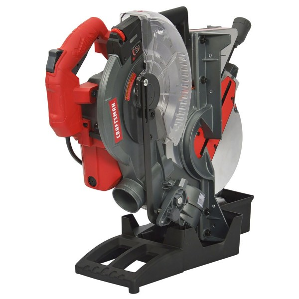 Craftsman 10-in 15-amp Single-bevel Laser Compound Miter