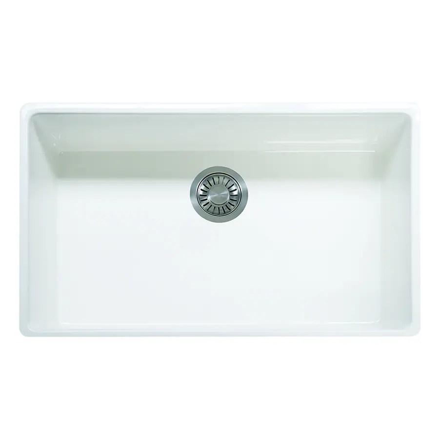 franke farm house farmhouse apron front 33 in x 20 in white single bowl kitchen sink