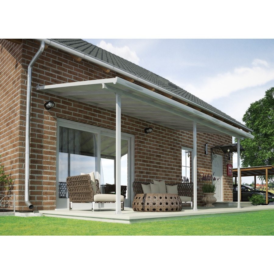 ft metal patio cover