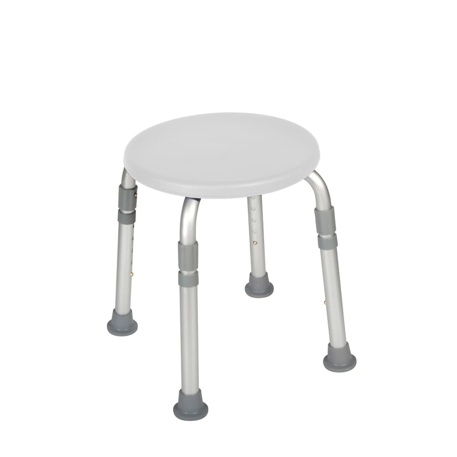 medical shower chairs french ladder back drive white plastic freestanding chair at lowes com
