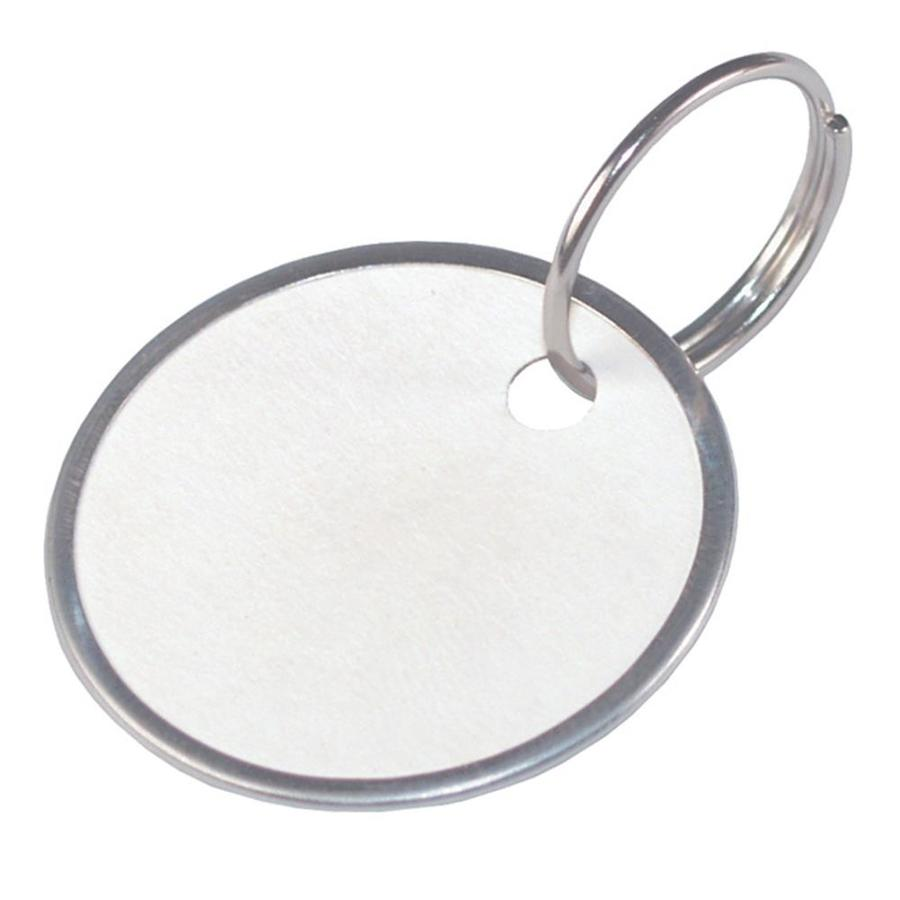 medium resolution of hillman paper key tags with wire ring