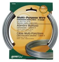 hillman 9 gauge galvanized utility wire [ 900 x 900 Pixel ]