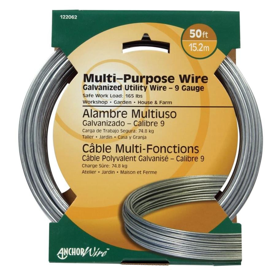 medium resolution of hillman 9 gauge galvanized utility wire
