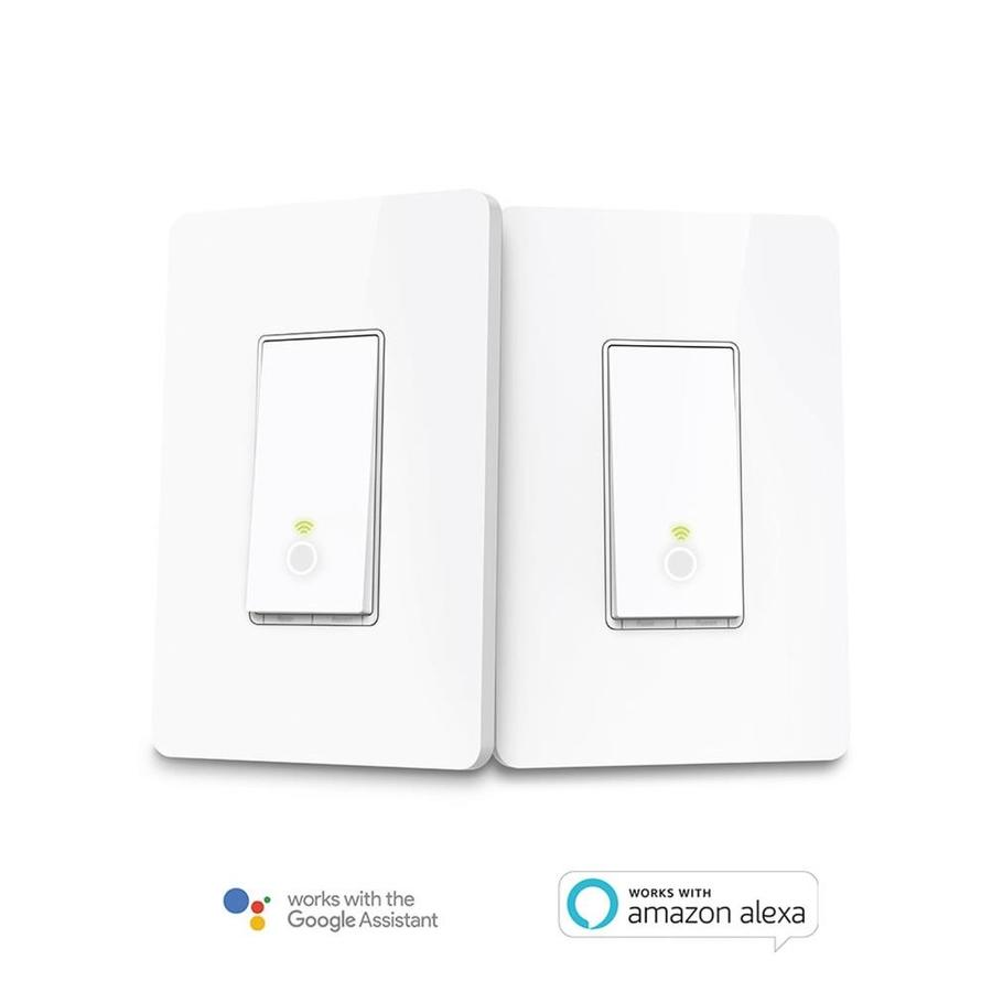 TP-Link Smart Switch 2-Pack 3.3-in White In-Line Cord