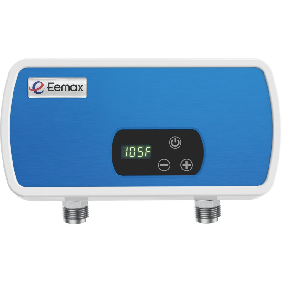 eemax thermostatic pou 120 volt 3 5 kw 0 9 gpm point of use tankless electric water heater